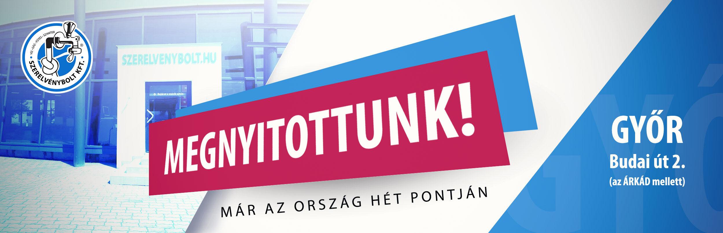 Győri banner