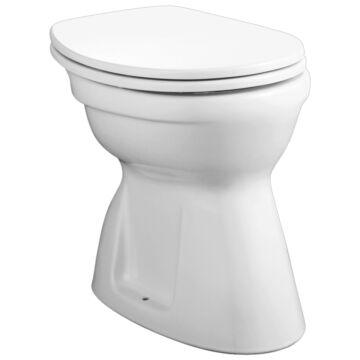 Alföldi Bázis WC-csésze alsó kifolyású, laposöblítésű, rövid (4037 00 01)