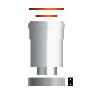 Ariston kondenzációs indító idom 60/100-as (3318079)