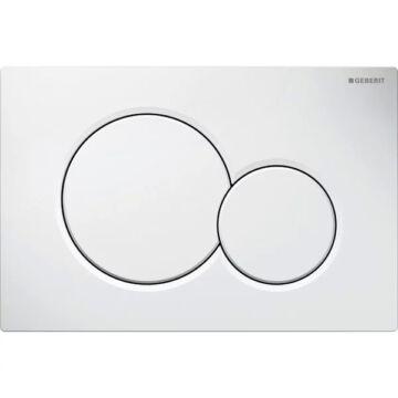 Geberit Sigma01 nyomólap fehér 2 mennyiséges (115.770.11.5)
