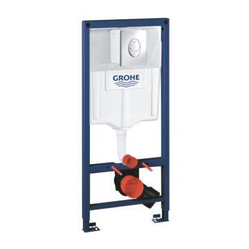 Grohe Rapid SL falsík alatti WC-tartály ajándék króm nyomólappal 1,13 m, 2in1 (38763001)