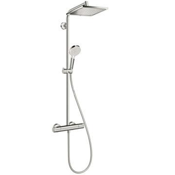 Hansgrohe Crometta E 240 Showerpipe króm termosztátos zuhanycsapteleppel (27271000)
