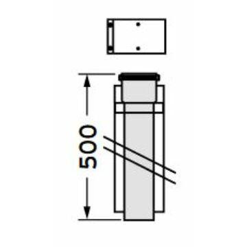 VAILLANT 60/100PP hosszabbítócső 50 cm