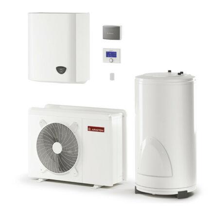 Ariston Nimbus Flex 50 M 2Z NET hőszivattyú rendszer, monoblokk, 5 kW, 180 l tároló, wifi, 2 fűtőkör (3301145)