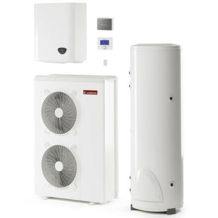 Ariston Nimbus Flex 90 M T NET hőszivattyú rendszer, monoblokk, 9 kW, 180 l tároló, wifi, 1 fűtőkör, 3 fázis (3301154)