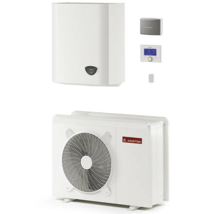 Ariston Nimbus Plus 40 M NET hőszivattyú, monoblokk, 4 kW, Sensys vezérlés, 1 fűtőkör, wifi (3301167)