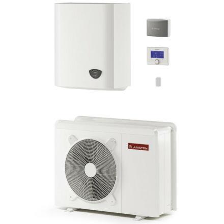 Ariston Nimbus Plus 40 M 2Z NET hőszivattyú, monoblokk, 4 kW, Sensys vezérlés, 2 fűtőkör, wifi (3301169)