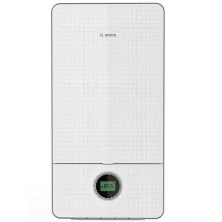 Bosch Condens 7000i W GC7000iW 24 C 23 kombi 24 kW kondenzációs gázkazán fehér üveg burkolattal