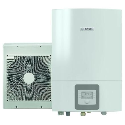 Bosch Compress 3000 AWES és ODU 8 levegő-víz hőszivattyú, split, elektromos fűtőpatronnal (8731750103)