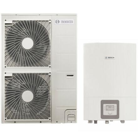 Bosch Compress 3000 AWES és ODU 15t levegő-víz hőszivattyú, split, elektromos fűtőpatronnal (8731750115)