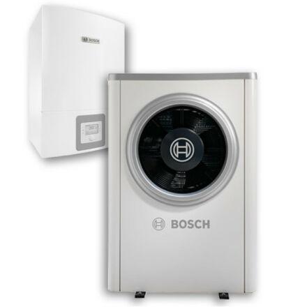 Bosch Compress 6000 AWE és ODU AW-13t levegő-víz hőszivattyú, monoblokk, elektromos fűtőpatronnal (8731750133)