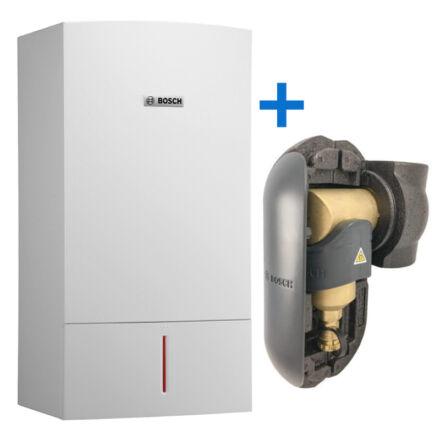 """Bosch Condens 3000 W ZWB 28-3 CE kombi gázkazán + iszapleválasztó 3/4"""""""