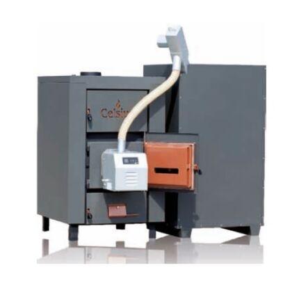 Celsius Combi 50-56 kazán, pellet készlettel, 56 kW fa/pellet