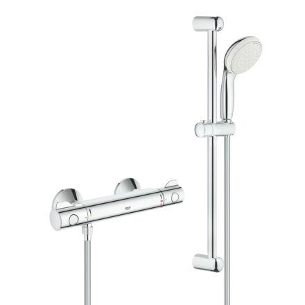 Grohe Grohtherm 800 termosztatikus zuhanycsaptelep szettel (34565001)