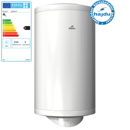 Hajdu Z-200 ErP elektromos forróvíztároló 200 literes 2400 watt fali függőleges (2112411116)