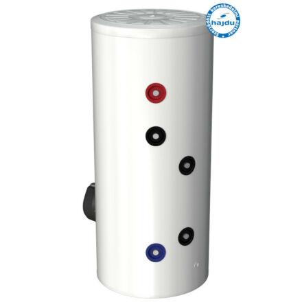 Hajdu IND 200S ErP indirekt fűtésű forróvíztároló 200 literes, álló, cirkulációs csonkkal (2142433112)