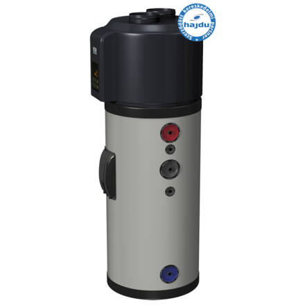 Hajdu HB300C1 hőszivattyús vízmelegítő 1 hőcserélővel 300 literes (2232631300)
