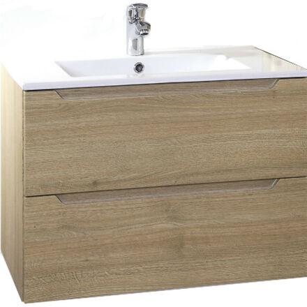 Hartyán bútor Elit mosdós szekrény, 70cm, Sonoma,  2 fiókkal  (Utolsó bemutató darab)