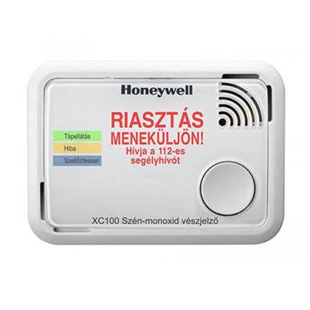 HONEYWELL Szén-monoxid érzékelő XC100  10 év élettartam