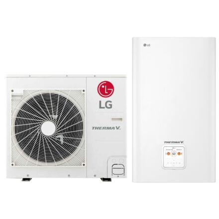 LG Therma-V - HN0916M.NK4 + HU051MR.U44 - osztott hőszivattyú 5,0 kW (R32)