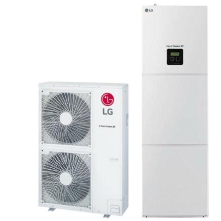 LG Therma-V - HN1616T.NB0 + HU161.U33 - osztott hőszivattyú,  integrált HMV 16,0 kW (R410A)