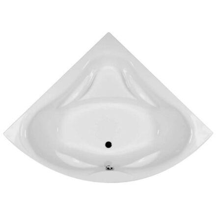 M-acryl Rita fürdőkád 135x135cm + láb 12002