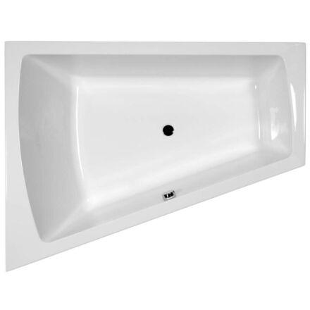 M-acryl Trinity fürdőkád 160x120 cm + láb jobbos 12132