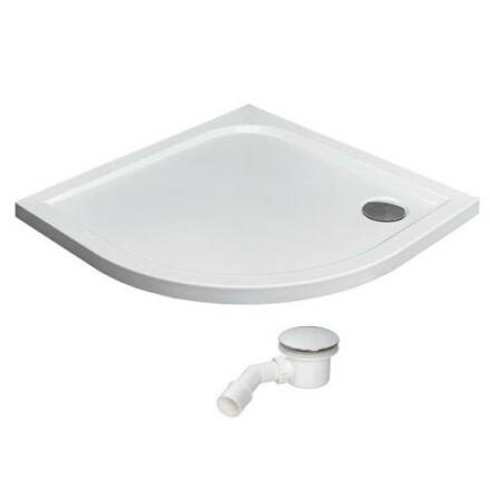 Radaway Delos A zuhanytálca 90x90 cm akril, lapos, ST90 szifonnal SDA0909-01