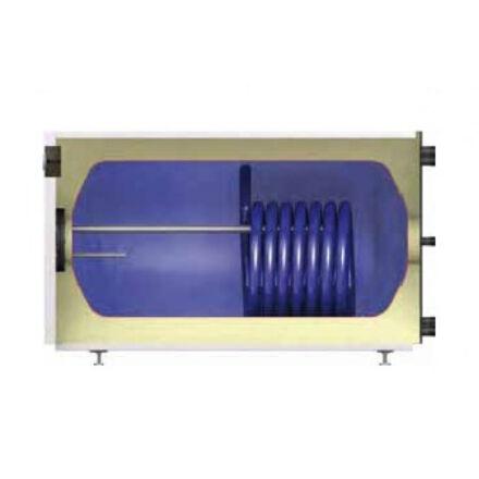 REFLEX indirekt HMV tároló AC 150/1 fekvő kék 1 hőcserélős
