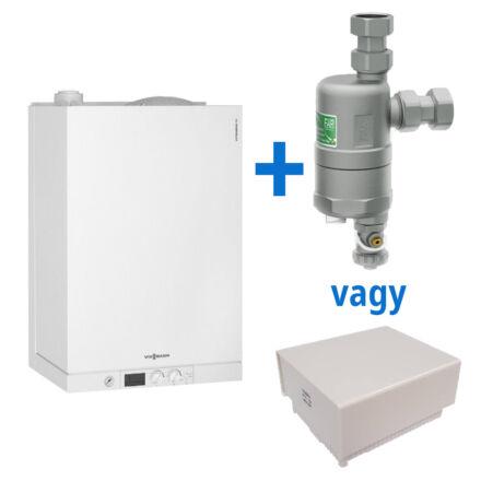 Viessmann Vitodens 111-W 19 kW tárolós kondenzációs kombi kazán értékes választható ajándékkal (B1LB056)