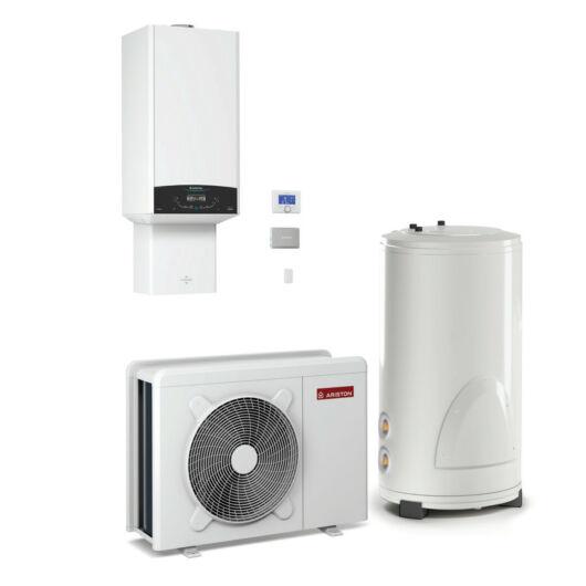 Ariston Genus One Hybrid Flex 24-5 Net kondenzációs kazán levegő/víz üzemű hőszivattyúval (3301250)