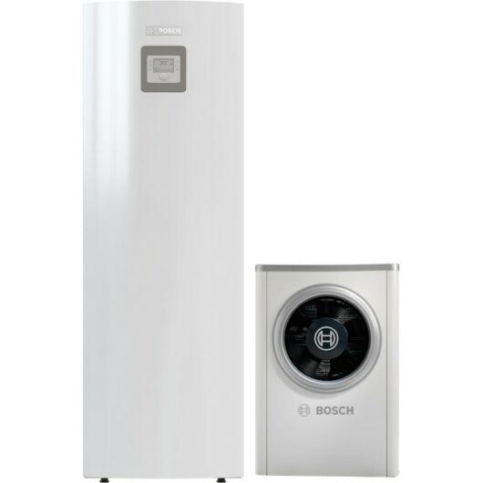 Bosch Compress 6000 AWM S és ODU AW-13t levegő-víz hőszivattyú, monoblokk, HMV tárolós, elektromos fűtőpatron (8731750135)