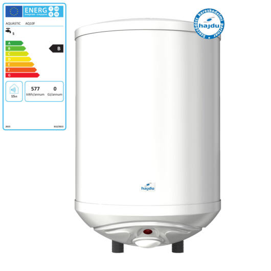 Hajdu Aquastic AQ 10F zárt rendszerű felső elhelyezésű forróvíztároló (2111213501)