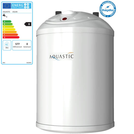 Hajdu Aquastic AQ 10A zárt rendszerű alsó elhelyezésű forróvíztároló (2111213502)