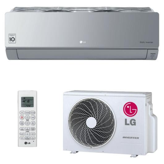 LG AC12SQ Artcool Silver oldalfali split klíma 3,5 kW