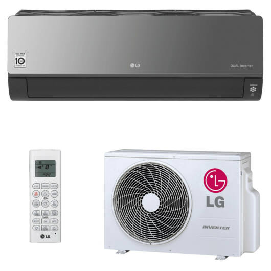 LG AC24BQ Artcool oldalfali split klíma 6,6 kW