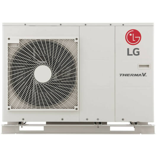 LG THERMA V - HM091M.U43 - monoblokkos hőszivattyú 9,0 kW (R32) 1Ø (a fűtőbetétet nem tartalmazza)