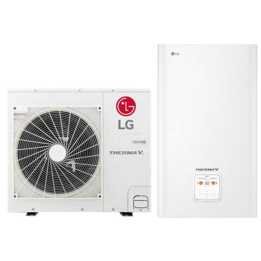LG Therma-V - HN0916M.NK4 + HU091MR.U44 - osztott hőszivattyú 9,0 kW (R32)